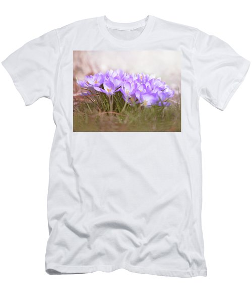 The Earth Blooms 2 Men's T-Shirt (Athletic Fit)
