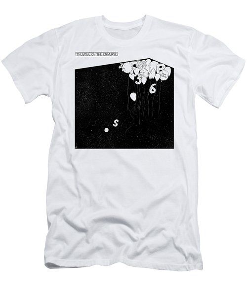 The Edge Of The Universe Men's T-Shirt (Athletic Fit)