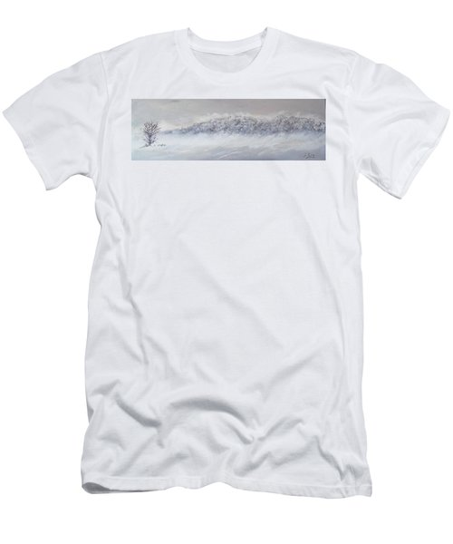 The Front Of Cold Men's T-Shirt (Athletic Fit)
