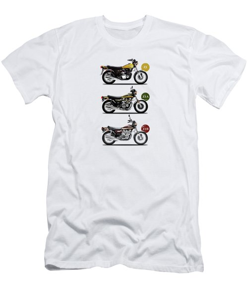The Kawasaki Z1 Collection Men's T-Shirt (Athletic Fit)