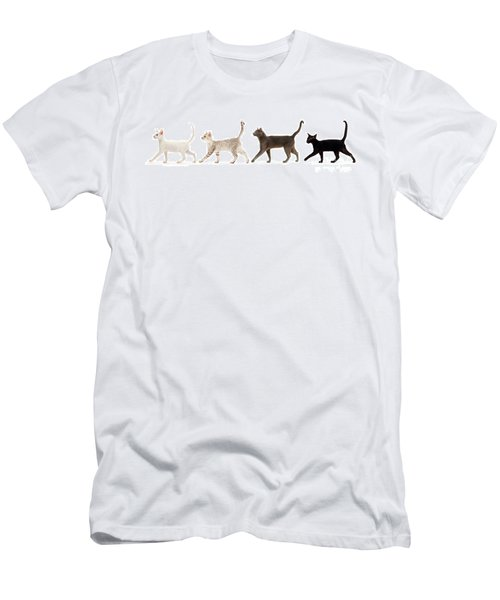 Men's T-Shirt (Athletic Fit) featuring the photograph The Kits Parade - Four by Warren Photographic