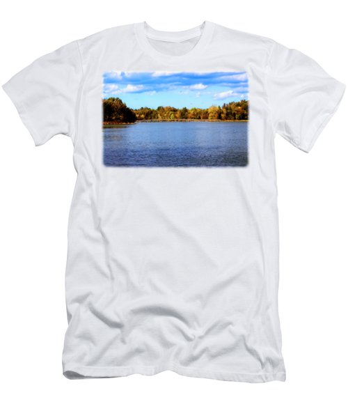 The Lake In Autumn Men's T-Shirt (Athletic Fit)