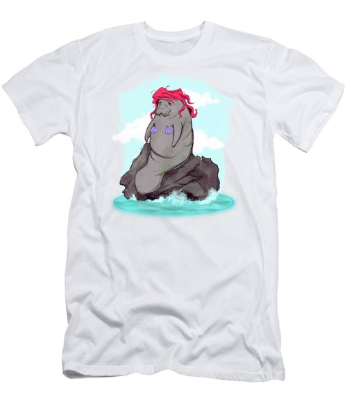 The Little Manatee  Men's T-Shirt (Athletic Fit)
