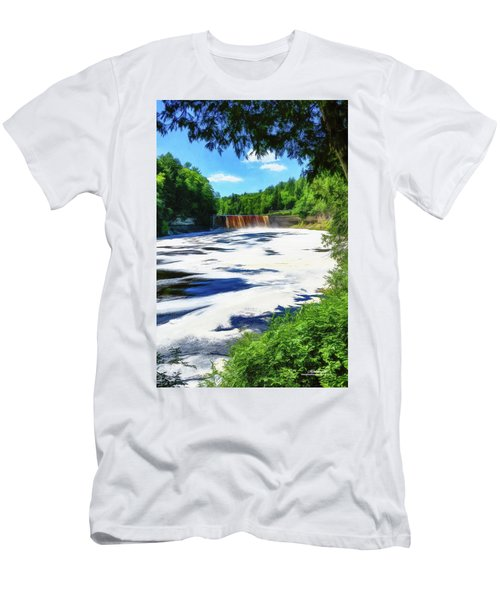 The Mighty Tahquamenon Men's T-Shirt (Athletic Fit)