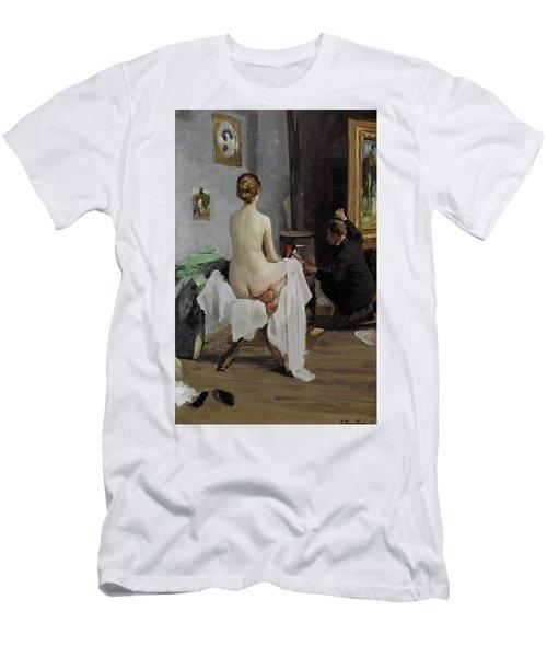 The Painter's Studio, 1896 Men's T-Shirt (Athletic Fit)