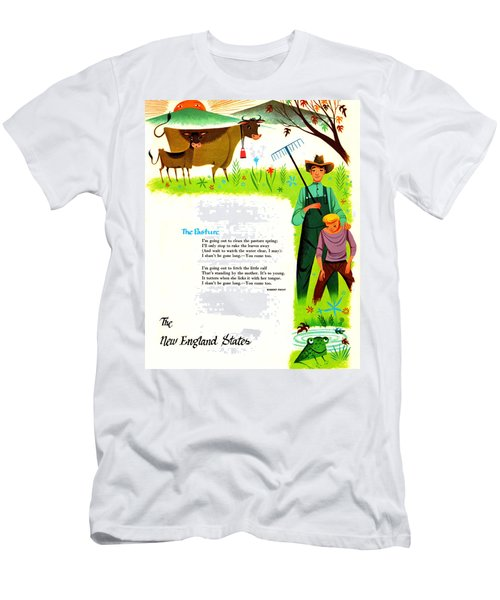 The Pasture By Robert Frost Men's T-Shirt (Athletic Fit)