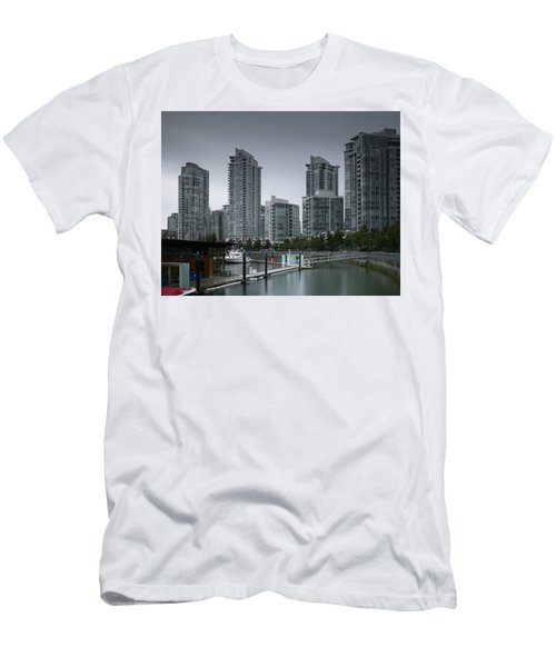 The Quayside Marina - Yaletown Apartments Vancouver Men's T-Shirt (Athletic Fit)
