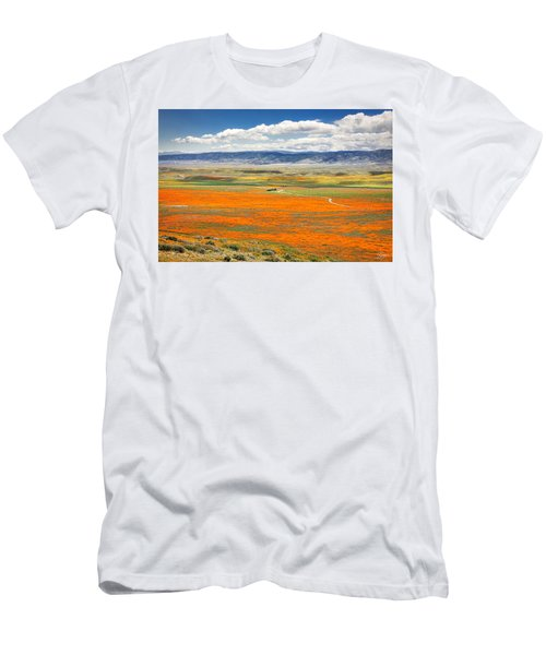 The Road Through The Poppies 2 Men's T-Shirt (Athletic Fit)