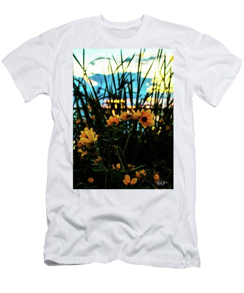 The Sunflower's Sunset Men's T-Shirt (Athletic Fit)