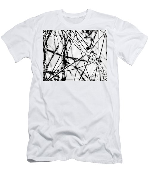 Men's T-Shirt (Athletic Fit) featuring the photograph The Tie That Binds by Melissa Lane