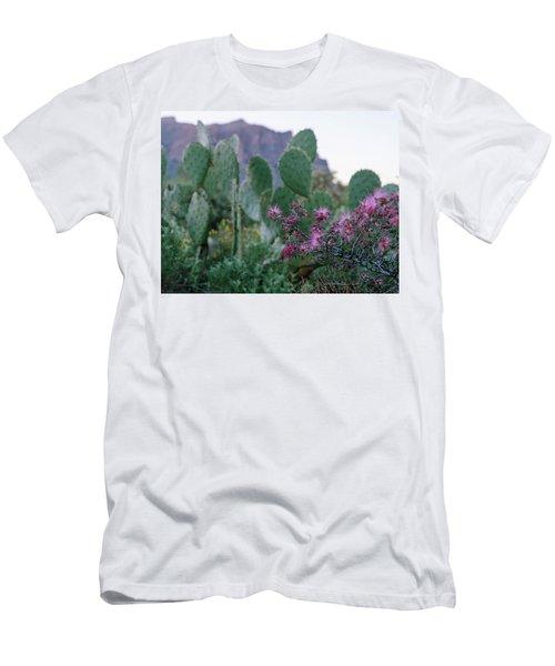The Vibrant Desert Men's T-Shirt (Athletic Fit)