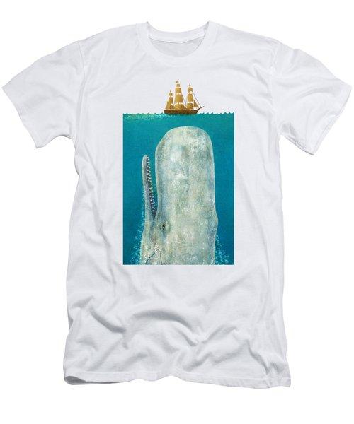 The Whale  Men's T-Shirt (Athletic Fit)
