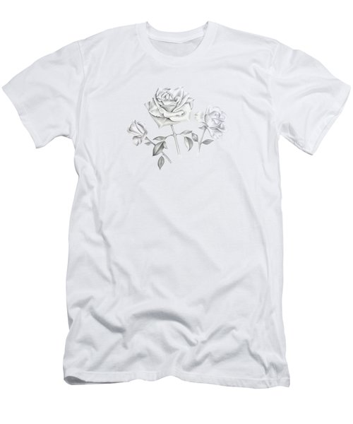 Three Roses Men's T-Shirt (Athletic Fit)