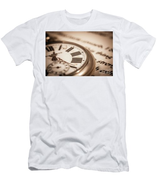 Time And Words Men's T-Shirt (Athletic Fit)