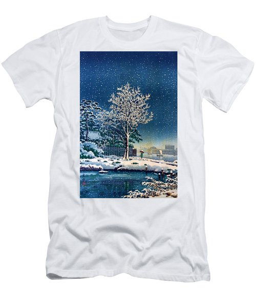 Top Quality Art - Sumida River Water God Forest Men's T-Shirt (Athletic Fit)