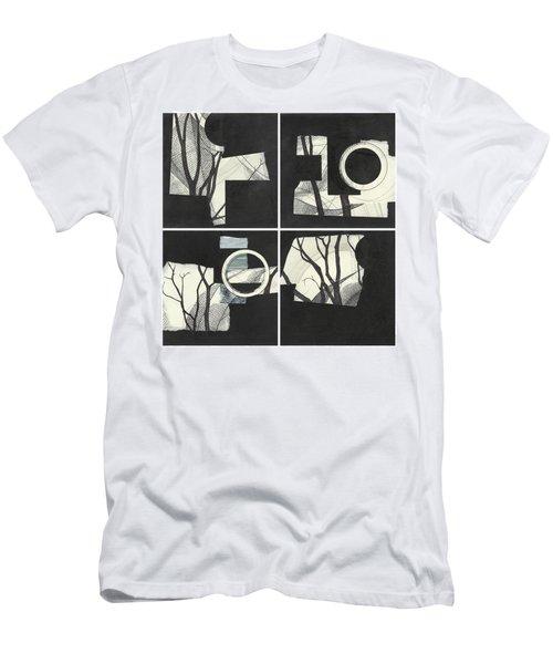 Torn Beauty No. 3 Men's T-Shirt (Athletic Fit)