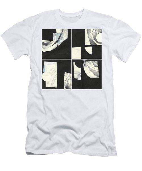 Torn Beauty No. 4 Men's T-Shirt (Athletic Fit)