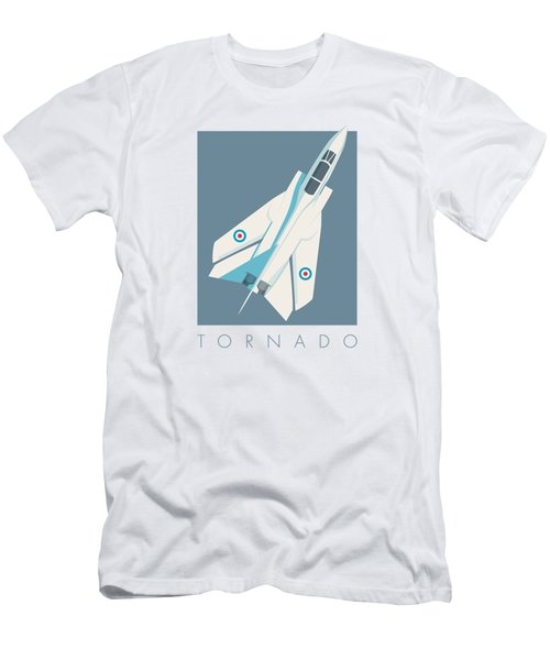 Tornado Swing Wing Jet - Slate Men's T-Shirt (Athletic Fit)