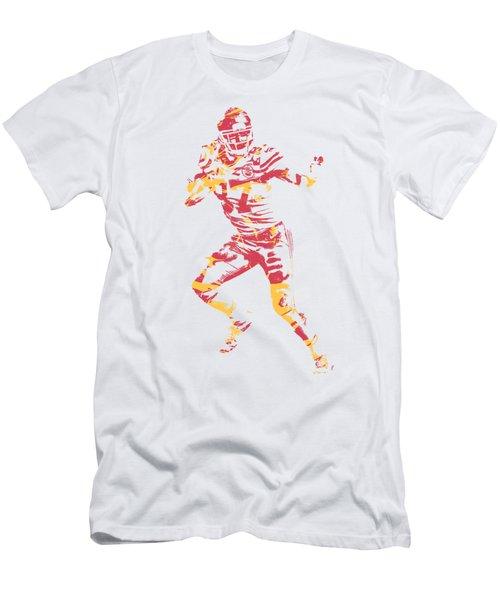 Travis Kelce Kansas City Chiefs Apparel T Shirt Pixel Art 2 Men's T-Shirt (Athletic Fit)