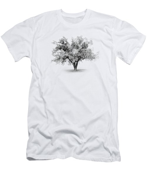 Tree In Monochrome Men's T-Shirt (Athletic Fit)