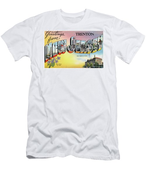 Men's T-Shirt (Athletic Fit) featuring the photograph Trenton Greetings by Mark Miller