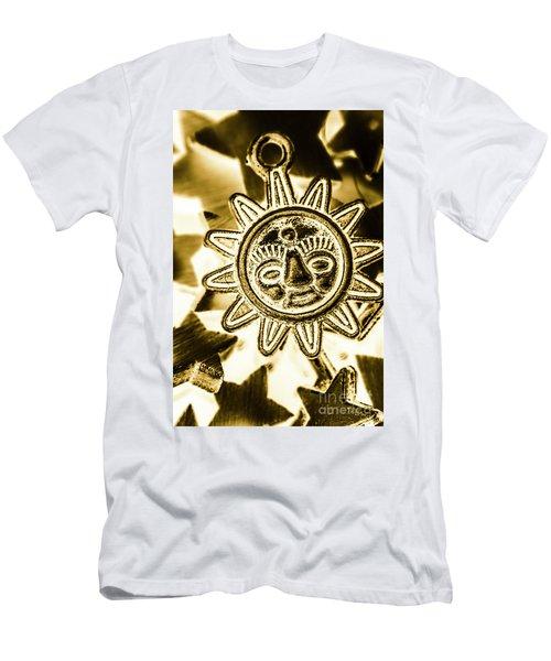 Tribal Suns  Men's T-Shirt (Athletic Fit)
