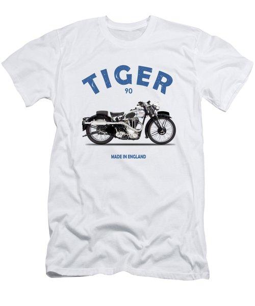 Triumph Tiger 90 Men's T-Shirt (Athletic Fit)