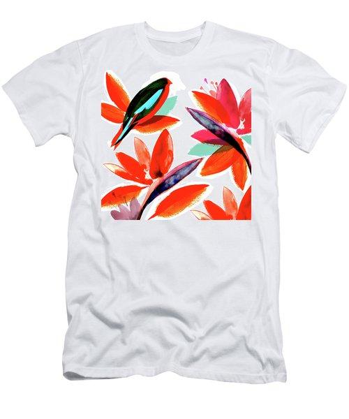 Tropical Bird, 2017 Men's T-Shirt (Athletic Fit)