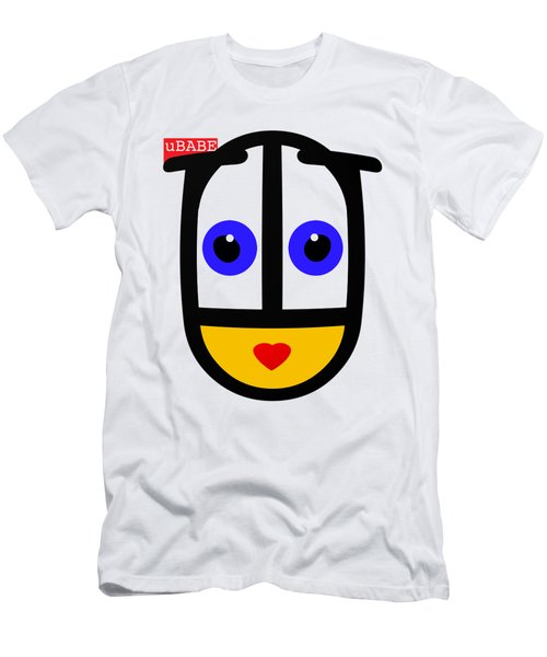 uBABE Logo Men's T-Shirt (Athletic Fit)