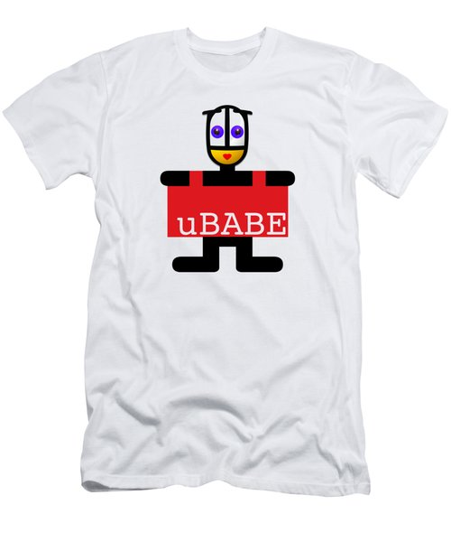uBABE Style Tag  Men's T-Shirt (Athletic Fit)