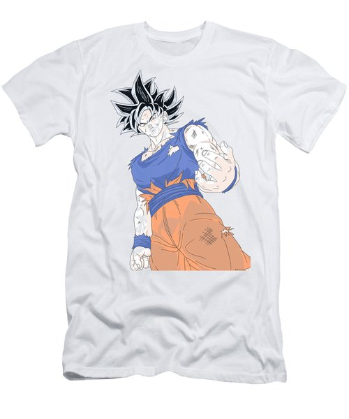 Ultra Instinct Goku - Color Men's T-Shirt (Athletic Fit)