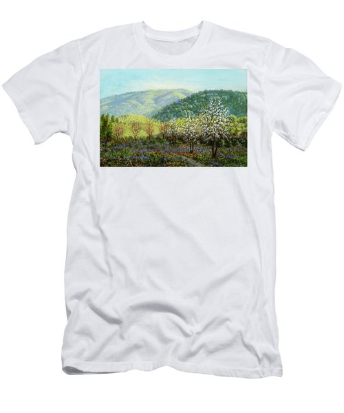 Under The California Sun Men's T-Shirt (Athletic Fit)