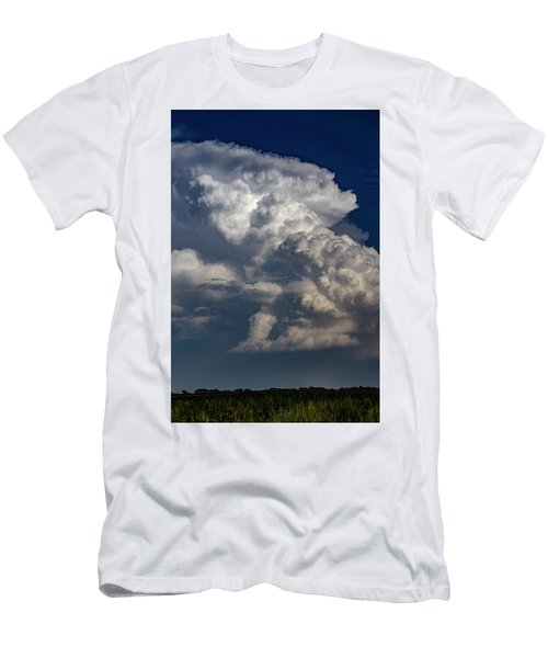 Men's T-Shirt (Athletic Fit) featuring the photograph Updrafts And Anvil 008 by NebraskaSC