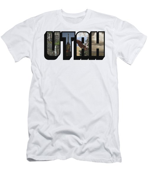 Utah Big Letter Men's T-Shirt (Athletic Fit)