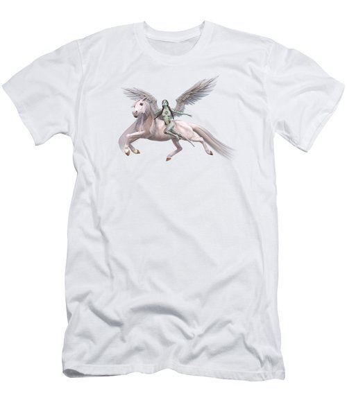Valkyrie Angel Men's T-Shirt (Athletic Fit)