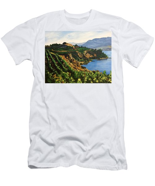 Valley Vineyard Men's T-Shirt (Athletic Fit)