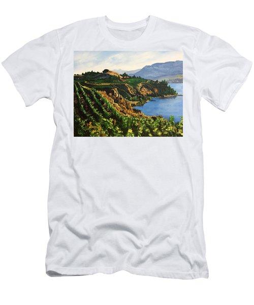 Valley Vineyard Men's T-Shirt (Athletic Fit)