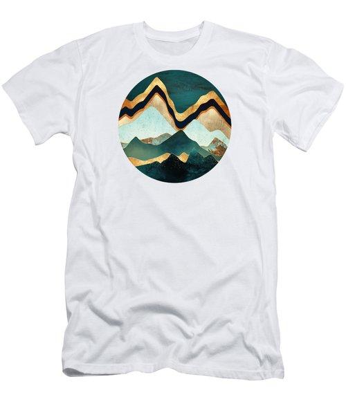 Velvet Copper Mountians Men's T-Shirt (Athletic Fit)