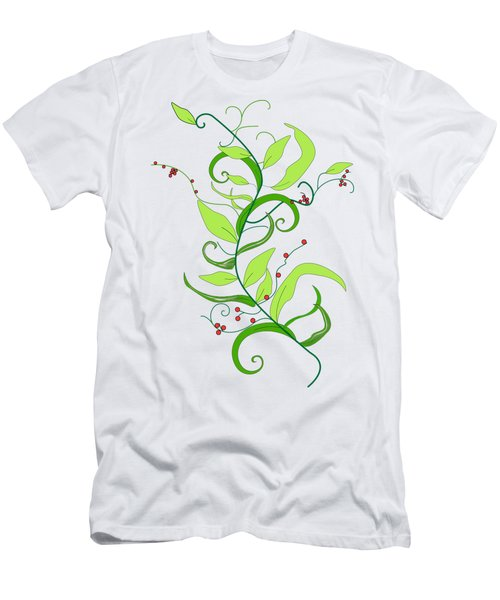Vertical Vine Men's T-Shirt (Athletic Fit)