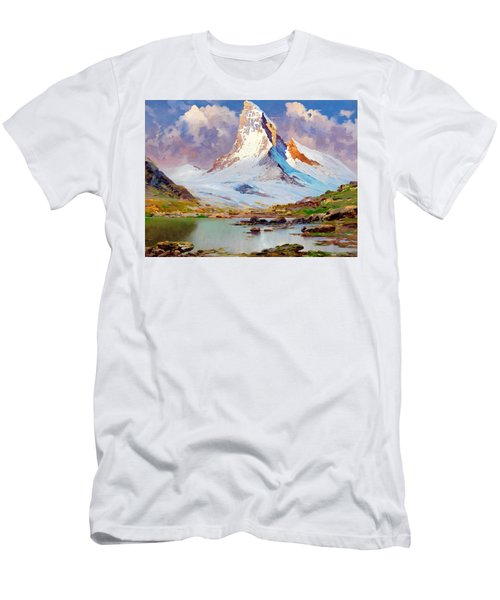 View Of The Matterhorn - Digital Remastered Edition Men's T-Shirt (Athletic Fit)