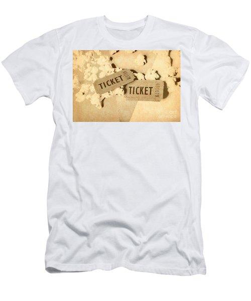 Vintage Flicks Men's T-Shirt (Athletic Fit)
