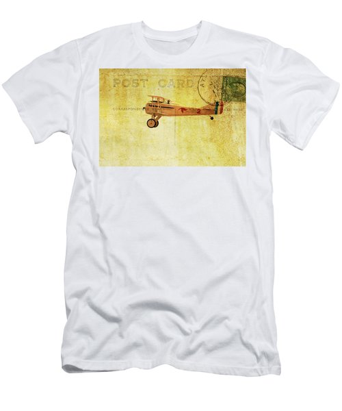 Vintage Flight Men's T-Shirt (Athletic Fit)