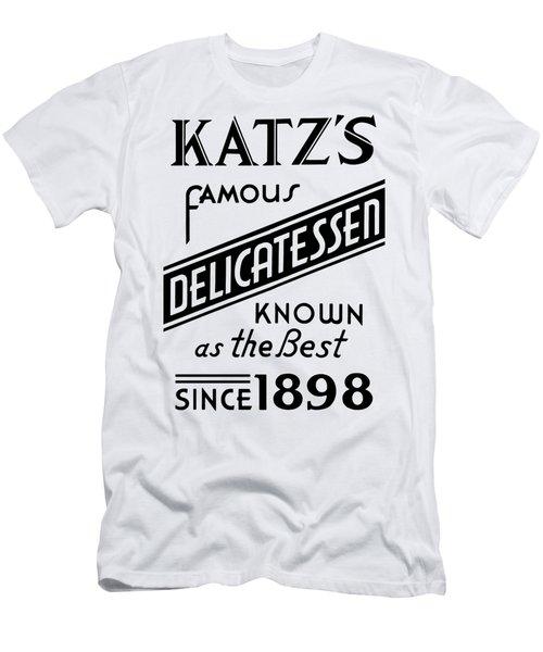 Vintage Katz's Deli Sign - T-shirt Men's T-Shirt (Athletic Fit)