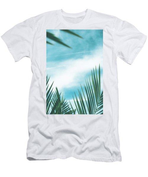 Vintage Palms II Men's T-Shirt (Athletic Fit)