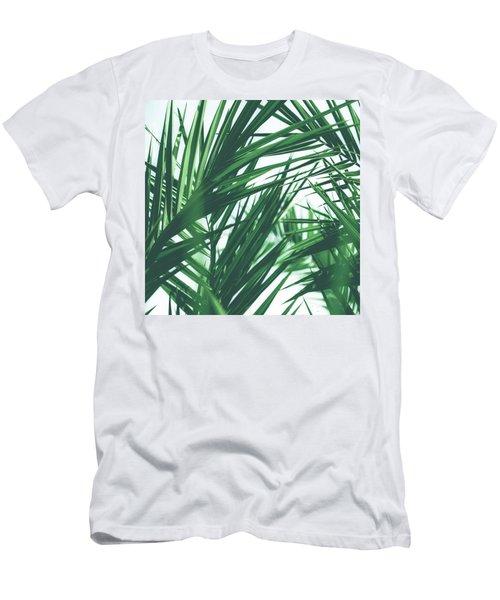 Vintage Palms IIi Men's T-Shirt (Athletic Fit)