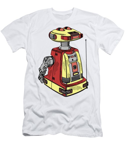 Vintage Toy Robot Tee Men's T-Shirt (Athletic Fit)