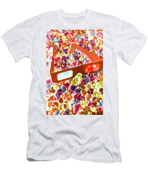Visual Pop Art Men's T-Shirt (Athletic Fit)