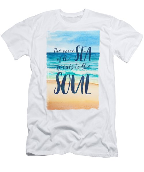 Voice Of The Sea Men's T-Shirt (Athletic Fit)