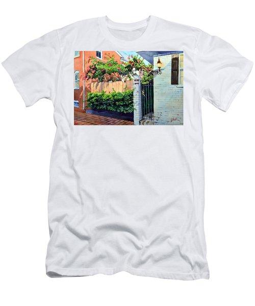 Walking On Jefferson Men's T-Shirt (Athletic Fit)
