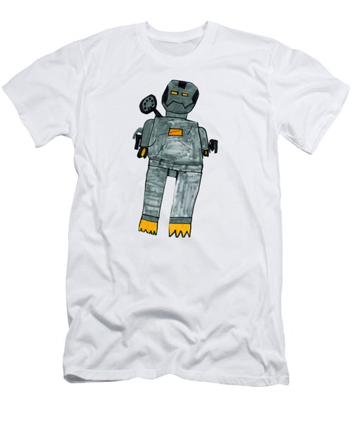 Men's T-Shirt (Athletic Fit) featuring the photograph War Machine by Stephen Phillippi